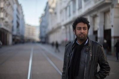 Le journaliste Omar radi à Casablanca au Maroc