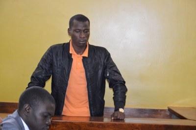 Blogger Cyprian Nyakundi at the Kiambu Law Courts (file photo).