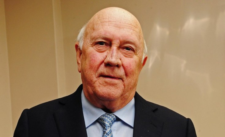 FW de Klerk Foundation retracts apartheid statement, apologises