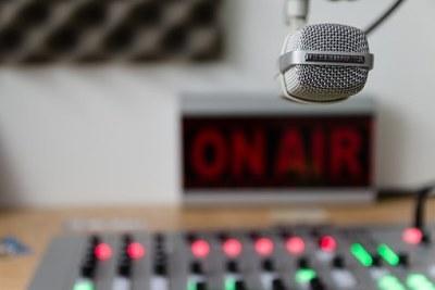 Radio microphone (file photo).