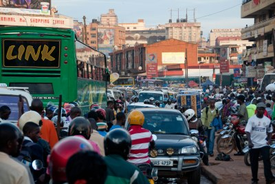 A street in Kampala (file photo).