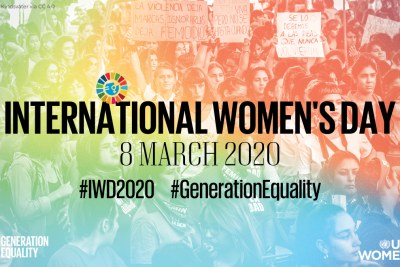 UN Women image for International Women's Day in 2020.
