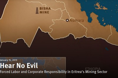 When Nevsun began building its Bisha mine in Eritrea in 2008 it failed to conduct human rights due diligence activity and had only limited human rights safeguards in place, HRW said in a 2013 report.