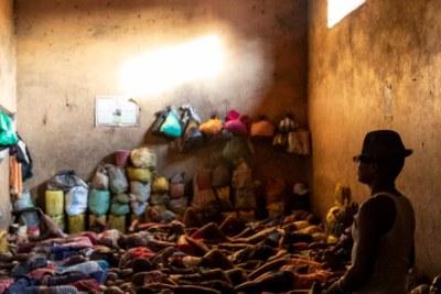 Prison dans un pays africain
