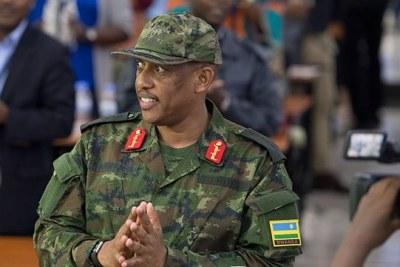 General Patrick Nyamvumba (file photo).