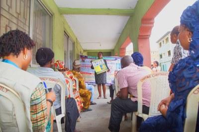 L'UNICEF sensibilise les communautés du Nigéria aux dangers de la Covid-19 en organisant des ateliers dans le pays d'Afrique de l'Ouest