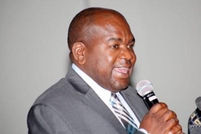 Zambia Health Minister Chitalu Chilufya (file photo).