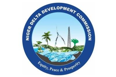 The Niger Delta Development Commission (NDDC) logo