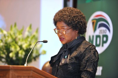 Former speaker of parliament Baleka Mbete was among the South African delegation sent to Zimbabwe (file photo).