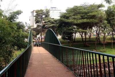 The John Michuki Memorial Park in Nairobi on August 13, 2020.