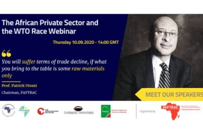 PAFTRAC convenes webinar on African Private Sector and the #WTO Race