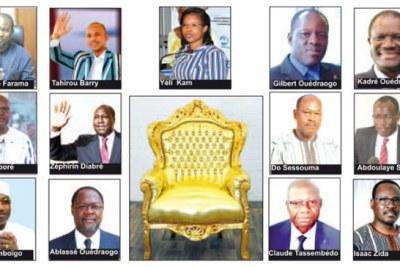 13 candidats pour un fauteuil présidentiel