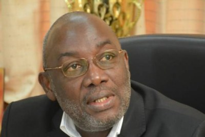 Le Président de la Fif, Augustin Sidy Diallo