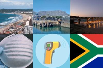 Durban beachfront, Cape Town waterfront, Port Elizabeth pier