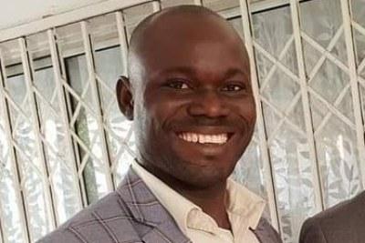 Roger Bamba de l'Union des forces démocratiques de Guinée (UFDG)