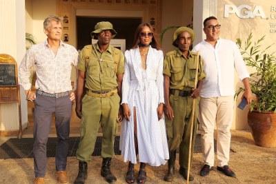 British model Naomi Campbell appointed Magical Kenya International Ambassador.