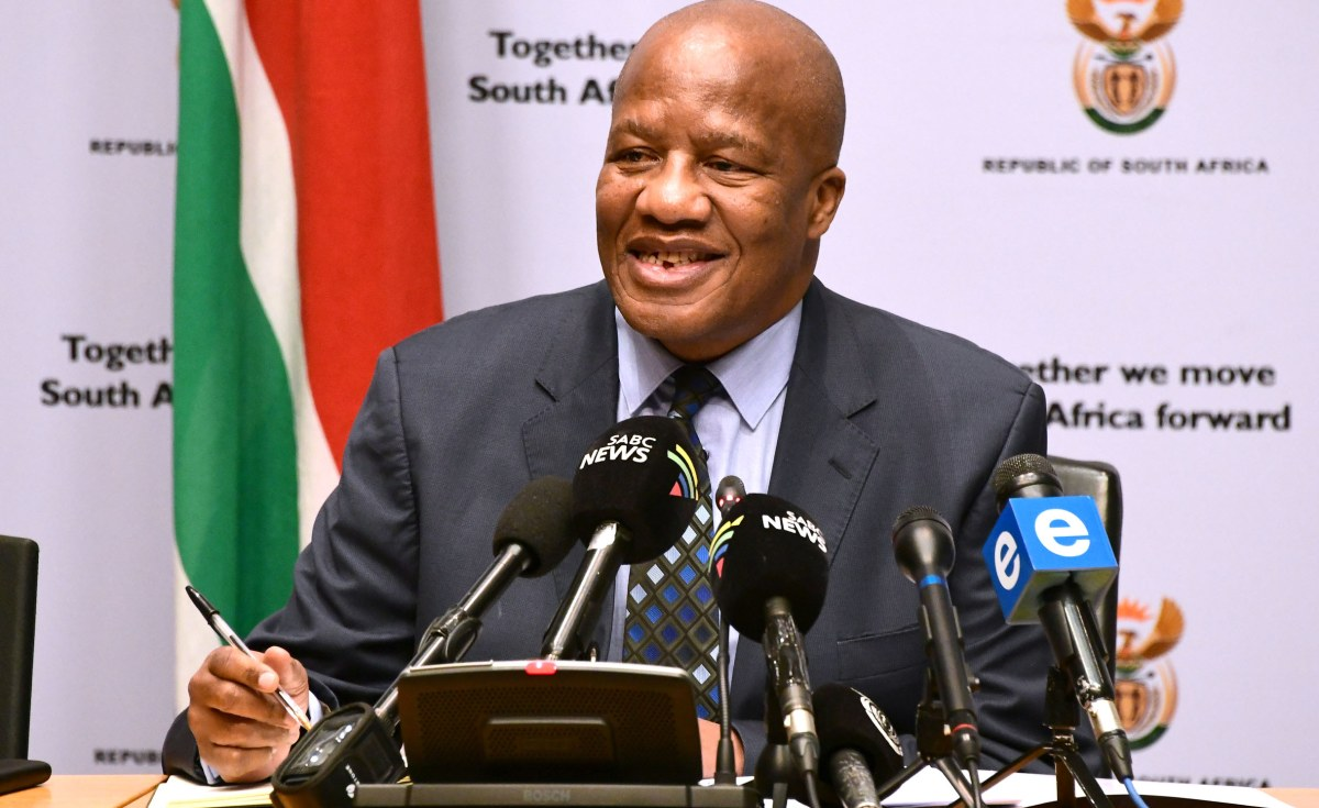 'A Great Loss' - South Africans Mourn Minister Jackson Mthembu