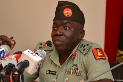 General Ibrahim Attahiru has been appointed chief of the Nigerian Army.