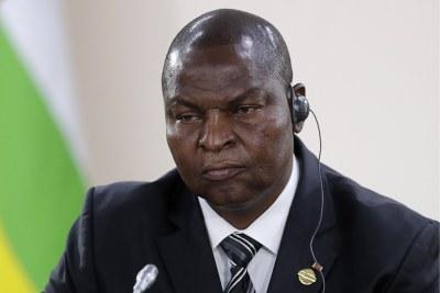 Président de la République de Centrafrique, Faustin Archange Touadéra