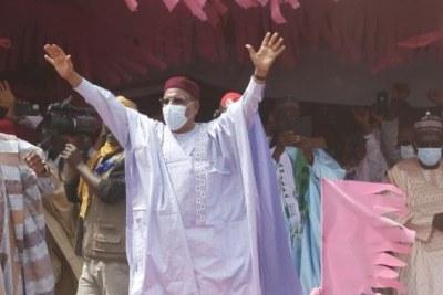 Mohamed Bazoum, nouveau président du Niger