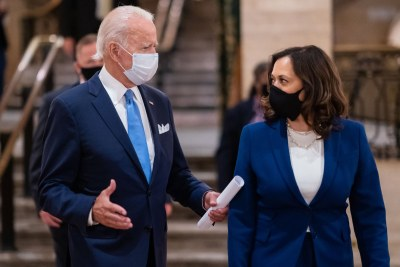 U.S. President Joe Biden and Vice President Kamala Harris