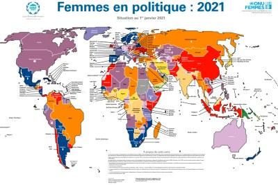 Carte - Femmes en politique