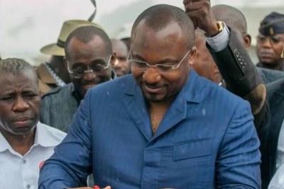 Denis Christel Sassou Nguesso, à Brazzaville.