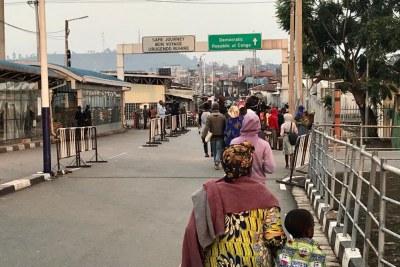 Frontière entre la RDC et le Rwanda