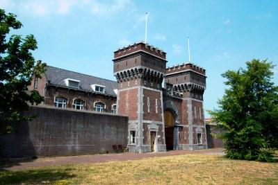 Scheveningen prison in The Hague.