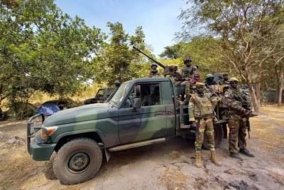 Des membres de l'armée sénégalaise en Casamance. (Image d'illustration)