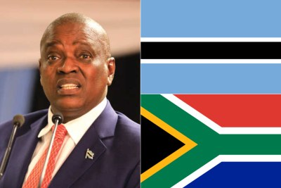 Botswana's President, Mokgweetsi Masisi.