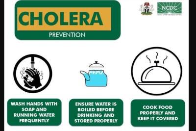 Cholera prevention guide.