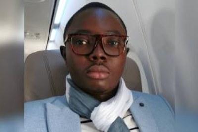 Photo du journaliste d'investigation béninois Ignace Sossou, emprisonné durant six mois sur la base du Code du numérique.