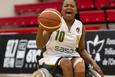 2011 Women's U25 World Wheelchair Basketball Championships.