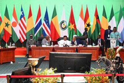 Sommet des chefs d'Etats et de Gouvernements de la CEDEAO (Photo d'archives)