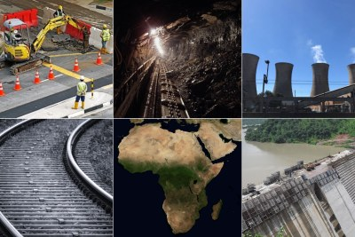 Construction of infrastructure in Africa (file photo).