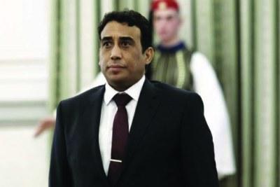 Mohamed el-Menfi, le président du conseil présidentiel libyen par intérim