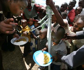 Life in the Nakuru IDP Camp